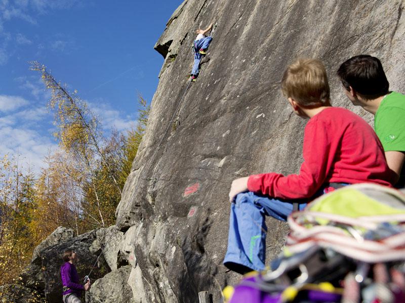 Klettersteig Längenfeld : Kletterurlaub :: sommerurlaub Ötztal hotel bergwelt
